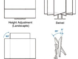 Stand adjustment