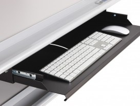LED proofStation keyboard shelf