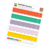 Pantone Simulator Prints